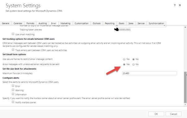 e-mail-setting